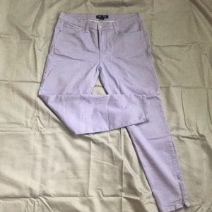 Forever 21 purple jeans